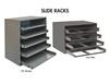 COMPARTMENT BOX SLIDE RACKS
